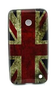 용 노키아 케이스 패턴 케이스 뒷면 커버 케이스 국기 소프트 TPU Nokia Nokia Lumia 630