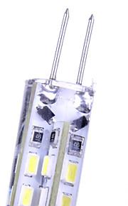 10pcs G4 2.5 W 24SMD 3014 260 LM Warm White/Cool White Decorative Corn Bulbs 220 V