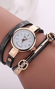 Mulheres Relógio de Moda Quartzo PU Banda Boêmio Preta Azul Vermelho Laranja