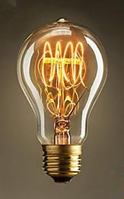 60W A19 Pacifier Nostalgic Popular Adornment Tungsten Bar Fashion Light Bulb