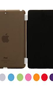 Maska Pentru iPad Mini 3/2/1 Cu Stand Auto Sleep / Wake Carcasă Telefon Mată PU piele pentru iPad Mini 3/2/1