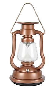 2 Lanternas e Luzes de Tenda LED 42 lm 2 Modo - Impermeável Campismo / Escursão / Espeleologismo Exterior Dourado Preto Azul