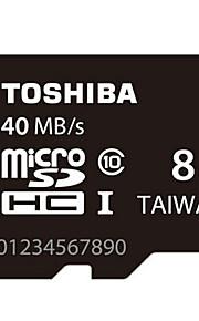 originais Toshiba 8gb class10 40m / s cartão de memória de alta velocidade