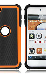 plástico destacável duplo e capa de silicone para o iPod touch 5 (cores sortidas)