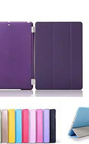 Custodia Per Mini iPad 3/2/1 Con supporto Standby automatico / accendimento automatico Origami Integrale Tinta unica pelle sintetica per