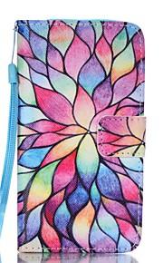 Custodia Per Samsung Galaxy A5(2017) A3(2017) A portafoglio Porta-carte di credito Con supporto Con chiusura magnetica Fantasia/disegno