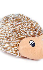 Brinquedos Felpudos rangido Porco Espinho Porco Espinho Têxtil Para Gato Cachorro