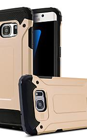 fodral Till Samsung Galaxy Samsung Galaxy S7 Edge Stötsäker med stativ Skal Rustning PC för S8 Plus S8 S7 edge S7