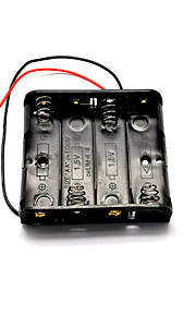 1.5v 4-aa batterijhouder voor model auto / vliegtuig