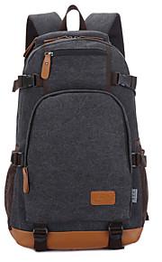 15inch Laptop-Tasche Rucksack Tasche Leinwand für Schüler / Reise blau / schwarz / khaki / Kaffee