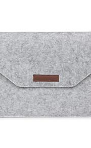 Manche Case Enveloppe Couleur Pleine Textile pour MacBook Pro 15 pouces / MacBook Air 13 pouces / MacBook Pro 13 pouces