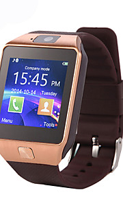 Smartwatch DZ09 for Android Calories Burned / Long Standby / Hands-Free Calls / Touch Screen / Camera Stopwatch / Call Reminder / Activity Tracker / Sleep Tracker / Sedentary Reminder / 0.3 MP / 64MB