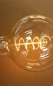 G125 40W E27 Vintage Edison Bulb Retro Lamp Incandescent Light Bulb (AC220-240V)
