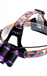 U'King ZQ-X826 Lanternas de Cabeça Faixa Para Lanterna de Cabeça Farol Dianteiro LED 9000LM lm 4.0 Modo Cree XM-L T6 Foco Ajustável