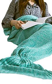 Cobertor de Viagem Manter Quente Descanso em Viagens Lavável para Acrílico Sólido Feminino