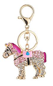 a nova moda hot cavalo da bolsa chaveiro ma carro set trado chave de fecho de anel de dom pendant
