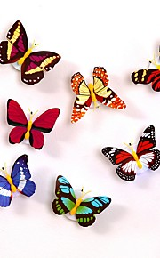 1PC LED Light Night Atmosphere Lamp with Colorful Changing Butterfly Indoor Light with Suction Pad Home Party Desk Wall Decor