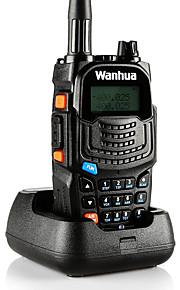 Wanhua UV6S Walkie Talkie VHF 136-174MHZ UHF 400-520MHZ 128CH 8W Two Way Radio