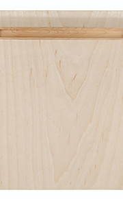samdi weichen Holz Maus-Pad Matte multifunktionales mit Stifthalter extrem glatte Oberfläche für Maus mit Massivholzstifthalter weiße