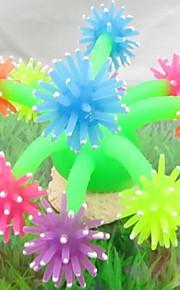 Aquarium Dekoration Korallenrot Nicht - giftig & geschmacklos Silikon