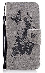 Custodia Per Samsung Galaxy S7 edge S7 A portafoglio Porta-carte di credito Con supporto Con chiusura magnetica Fantasia/disegno