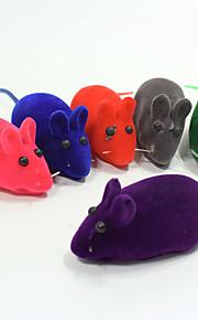 Жевательные игрушки Интерактивный Игрушки с писком Скрип Мышь Ластик Назначение Игрушка для котов Игрушка для собак
