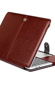 """MacBook Funda Un Color Cuero de PU para Nuevo MacBook Pro 15"""" / Nuevo MacBook Pro 13"""" / MacBook Pro 15 Pulgadas"""