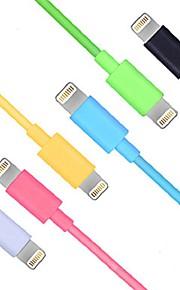 USB 3.0 Verlichting USB kabeladapter Oplaadkabel Oplaadkoord Data & Synchronisatie Koord Normaal Kabels Kabel Voor iPad Apple iPhone 100