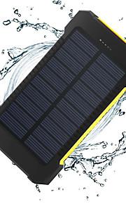 8000 mAh Voor Power Bank externe batterij 5 V Voor 1 A / 2 A Voor Oplader Zaklamp / Meerdere uitgangen / Zonne-energielader