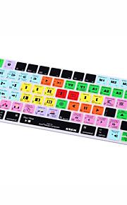XSKN® Avid Media Composer Shortcut Silicone Keyboard Skin for Magic Keyboard 2015 Version (US/EU Layout)
