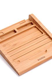 Stativ tablet stativ Wooden Gummi Originale køkkenredskaber holder tablet