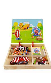 Quebra-Cabeça Brinquedos de Lógica & Quebra-Cabeças Brinquedo Educativo Brinquedos Quadrada Faça Você Mesmo Crianças 1 Peças