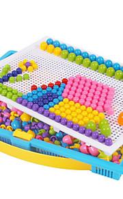 Técnicas Jogo de Quebra-cabeças Brinquedo Educativo Kits de mosaico Brinquedos Circular Cogumelo Colorido Infantil 296 Peças