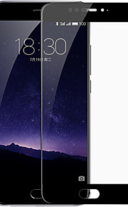Protector de pantalla Meizu para Meizu MX6 Vidrio Templado 1 pieza Protector de Pantalla, Integral Anti-Arañazos Alta definición (HD)