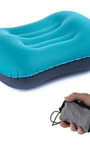 Travesseiro de Viagem Portátil Descanso em Viagens Inflado Elástico Pressão de Ar Exterior Viajar
