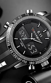 Homens Quartzo Relógio de Pulso Relógio Militar Relógio Esportivo Chinês Calendário Impermeável Silicone Banda Amuleto Luxo Criativo