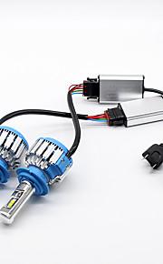 H7 Auto Lampadine 35W LED ad alta intensità 7000lm Lampada frontale