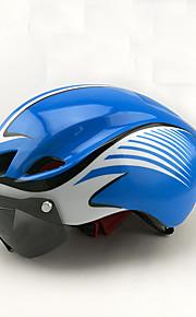 Головные уборы Мотоциклетный шлем CE Велоспорт 8 Вентиляционные клапаны One Piece Горные Город Ультралегкий (UL) Спорт Пенополистирол +