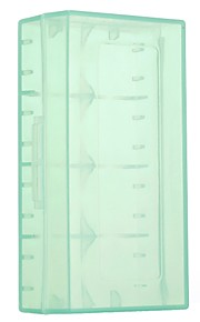 Green Transparent 18650 Battery Box 1 Piece 5