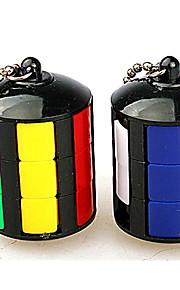 Rubiks terning Let Glidende Speedcube Magiske terninger Nøglering Stresslindrende legetøj Puslespil Terning Sjov Klassisk Gave Fun &