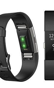 Watch Band varten Fitbit Charge 2 Fitbit Urheiluhihna Fluorielastomeeri Rannehihna