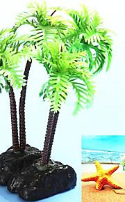 Оформление аквариума Растения Пластик