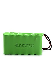 Ml Ni-Mh Battery  Aa 1800Mah 7.2V High Quality (Green Color)