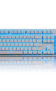 ajazz ak52 rode as achtergrondverlichting mechanisch toetsenbord 104 sleutel computerspel lol