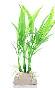 Оформление аквариума Орнаменты Водное растение Нетоксично и без вкуса Искусственная Милые Пластик