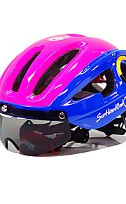 Шлем Мотоциклетный шлем CE Велоспорт 10 Вентиляционные клапаны Горные Ультралегкий (UL) Спорт Горные велосипеды Шоссейные велосипеды