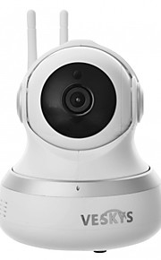 VESKYS® 1080P HD 2.0MP Wifi Security Surveillance IP Camera/Cloud Storage/Two Way Audio/Remote Monitor/Night Vision