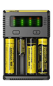 NEW-I4 Carregador de Bateria Lanternas Acessórios Portátil Profissional Alta qualidade Plástico para