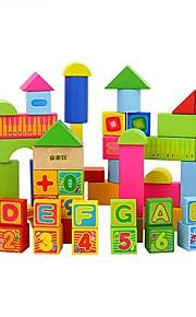 GDS-sæt Byggeklodser Pædagogisk legetøj Legetøj Rektangulær 66 Stk. Drenge Piger Gave