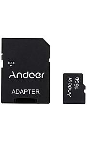 Andoer 16GB Micro-SD-Karte TF-Karte Speicherkarte Class10